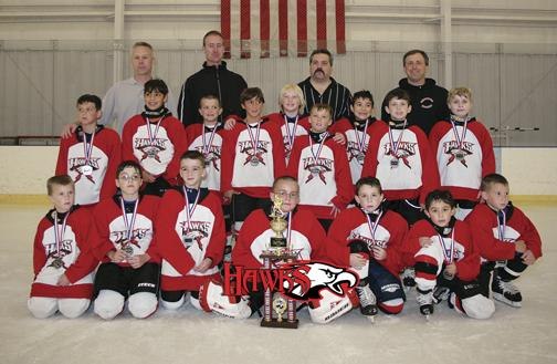 Ice Vault Youth House League team